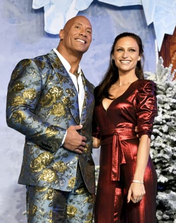 """Dwayne Johnson Says Ancestors Were """"Watching Over"""" His """"Magical Wedding"""""""