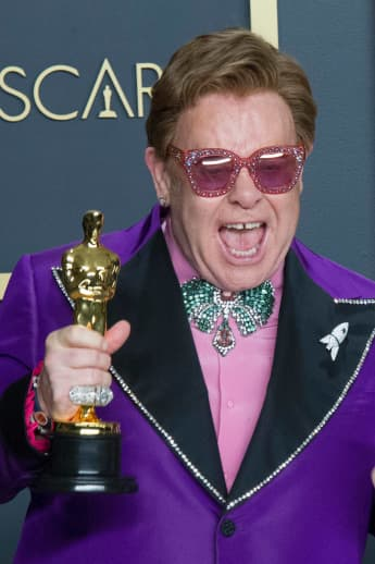 """Elton John Officially 30 Years Sober, Without Help He'd Be """"Dead."""""""