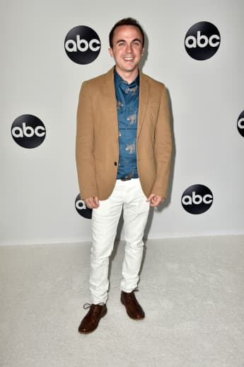 Frankie Muniz at the Disney ABC Television TCA Summer Press Tour, Beverly Hills, California, 2018.