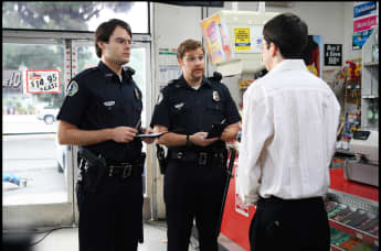 Bill Hader and Seth Rogen in the 2007 film, 'Superbad'