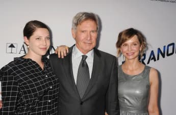 Harrison Ford's daughter Georgia is also an actress.
