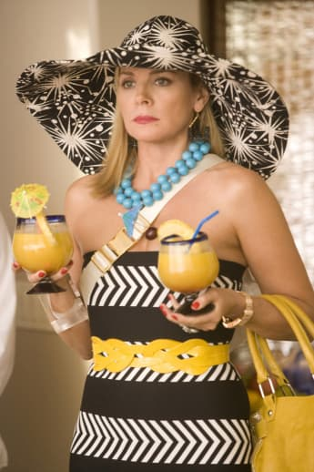 Kim Cattrall in the 2008 film version of Sex and the City