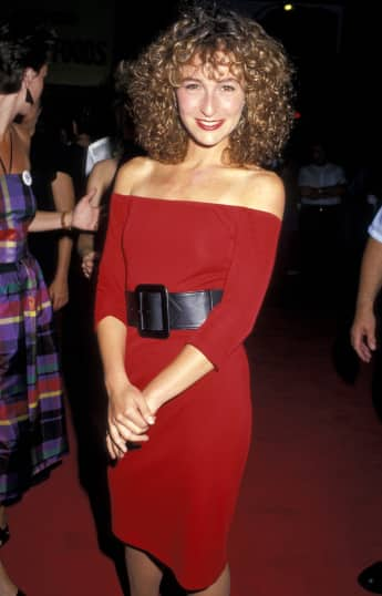 "Jennifer Grey (""Baby Houseman"") at the 1987 premiere of Dirty Dancing."