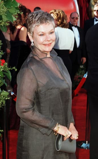 Judi Dench at the 70th Annual Academy Awards, Los Angeles, California, 1998.