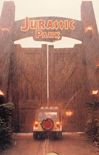 'Jurassic Park' production still.