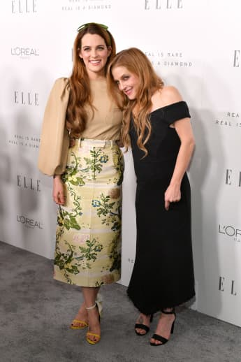 Lisa Marie-Presley and Riley Keough
