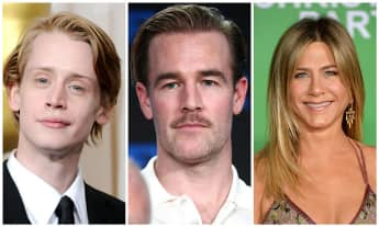 Macaulay Culkin, James van der Beek, Jennifer Aniston