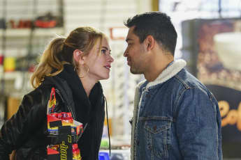 Emily Wickersham Wilmer Valderrama Bishop Torres NCIS 2018