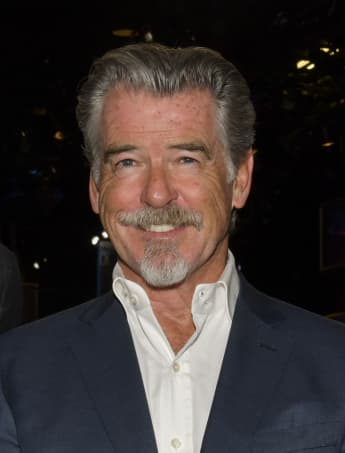 Pierce Brosnan at the 77th Annual Golden Globe Awards Preview Day at The Beverly Hilton Hotel on January 03, 2020 in Beverly Hills, California.