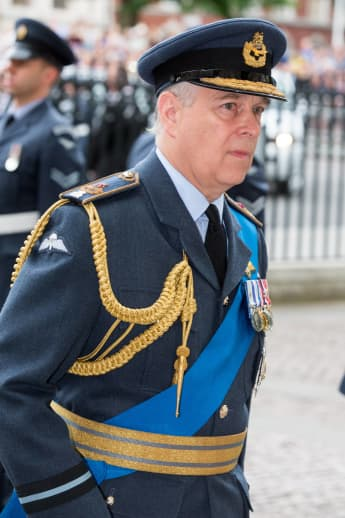 Prince Andrew turned down military promotion