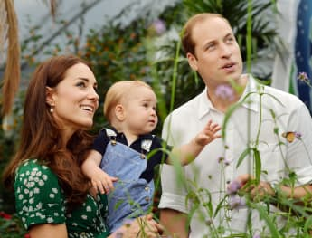 Prince George Went On A Traditional Royal Outing In Scotland With William And Kate