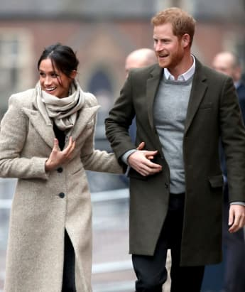Prince Harry Duchess Meghan returning to the UK at Queen's request.