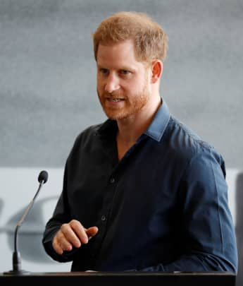 Prince Harry Records Special Video Message For Charity And Debuts A New Look