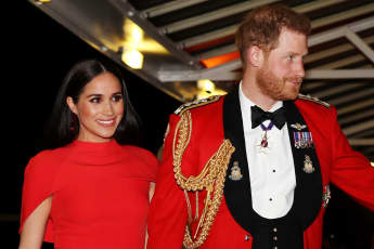 """Prince Harry Was There When Meghan Did Voice Work For 'Elephants': """"It Was Amazing Having Him There"""""""