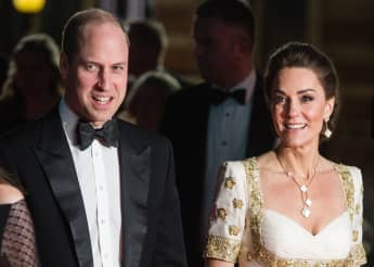 Prince William and Duchess Catherine 2020 BAFTAs