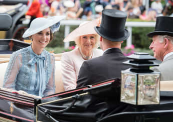 Prince William and Catherine will carry out a rare joint engagement with Charles and Camilla.