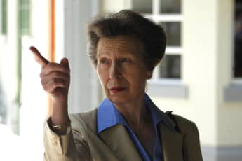 """Princess Anne urges the younger royals to """"go back to basics""""."""