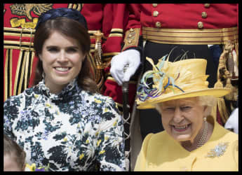 Queen Elizabeth and Princess Eugenie