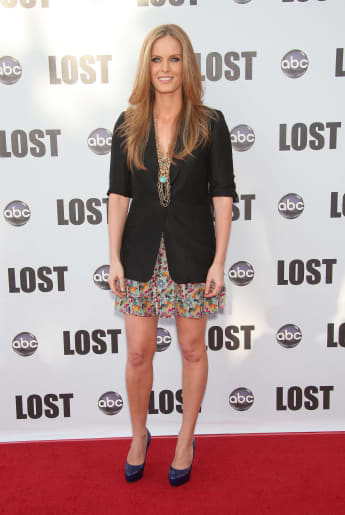 Rebecca Mader arriving to 'Lost' Live: The Final Celebration Party held at Royce Hall, UCLA, 2010