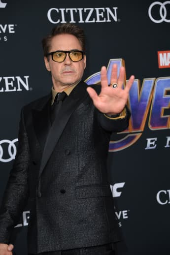 Robert Downey Jr. at the Avengers: Endgame Premiere