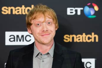 Rupert Grint snatch red carpet