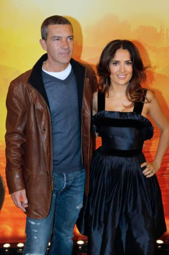 Salma Hayek sends sweet message to Antonio Banderas on Instagram after he received his Oscar nomination!