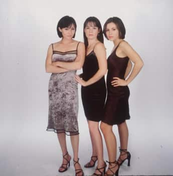 """Shannen Doherty, Holly Marie Combs and Alyssa Milano were the original """"Halliwell"""" sisters on Charmed."""