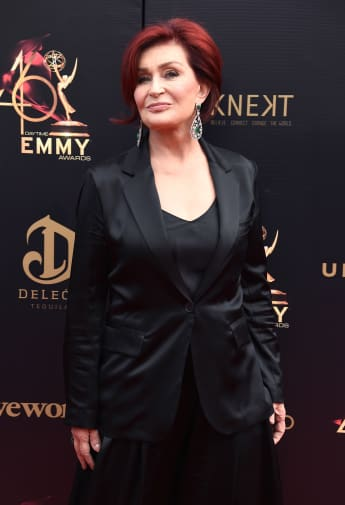 """Sharon Osbourne Debuts New White Hair After 8-Hour """"Transformation"""""""