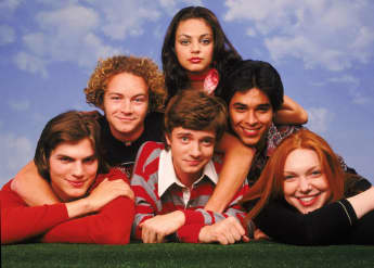 That 70's Show: Wilmer Valderrama also dated his co-star Mila Kunis.