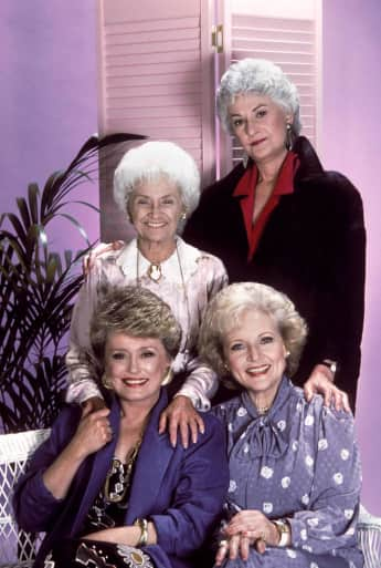 """Rose"", ""Blanche"", ""Dorothy"" and ""Sophia"" were The Golden Girls"