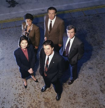 "The ""Law & Order"" Cast"