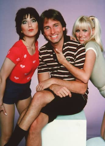 "The cast of ""Three's Company"""