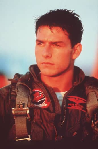 """Tom Cruise played the iconic character of """"Pete 'Maverick' Mitchell"""" in Top Gun"""