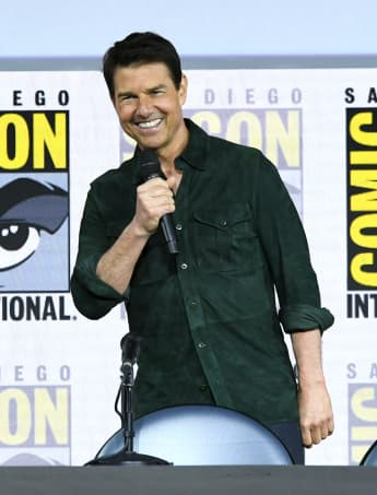 Tom Cruise Top Gun Maverick San Diego Comic Con
