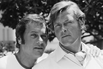Tony Curtis and Roger Moore starred as The Persuaders! from 1971 until 1972.