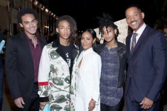 Will Smith And His Family Receive Legacy Award From Robin Williams' Children