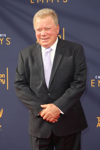 William Shatner Creative Arts Emmys Red Carpet 2018 Los Angeles