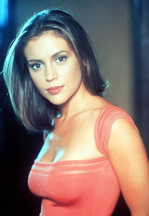 "Alyssa Milano also played ""Pheobe Halliwell"" in ""Charmed"""