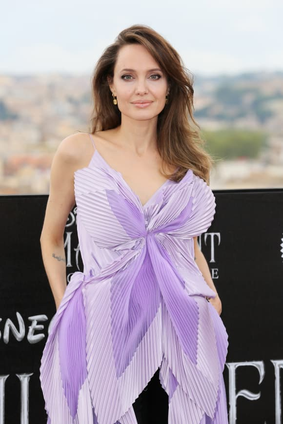 """Angelina Jolie attends the photocall of the movie """"Maleficent – Mistress Of Evil"""""""