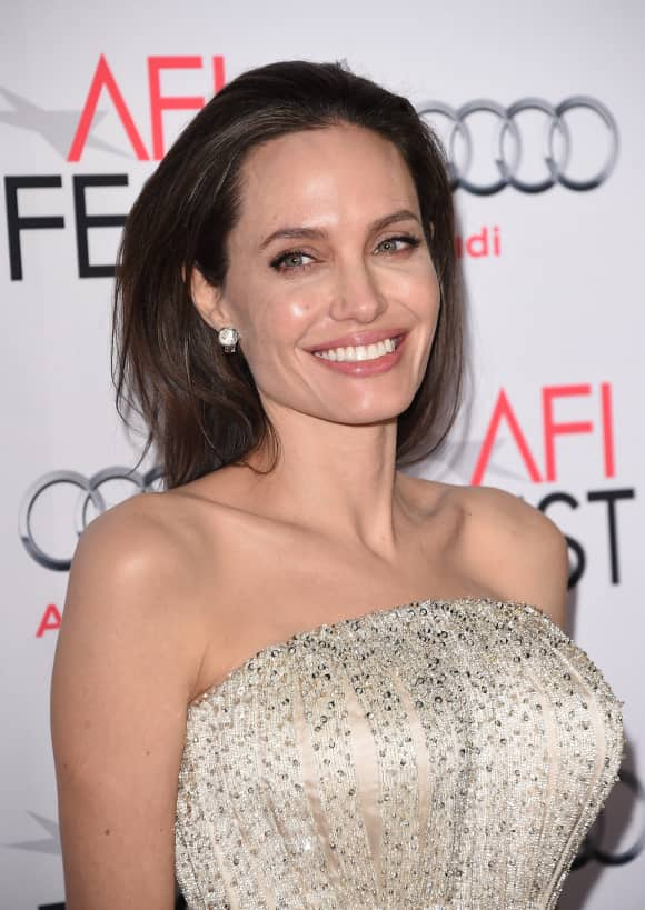Hollywood superstar Angelina Jolie