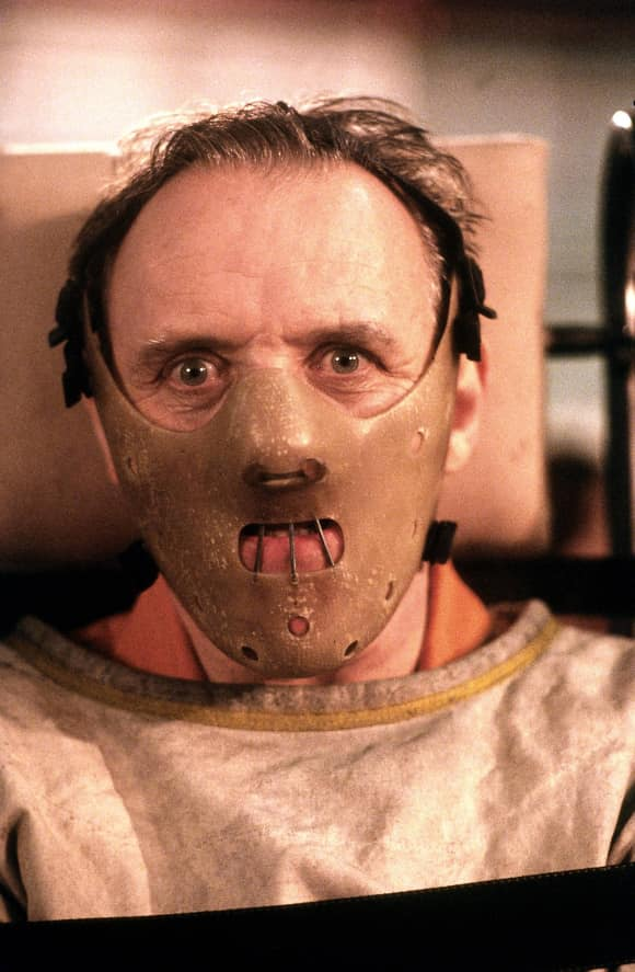 """Hannibal Lector"" in ""Silence of the Lambs"""