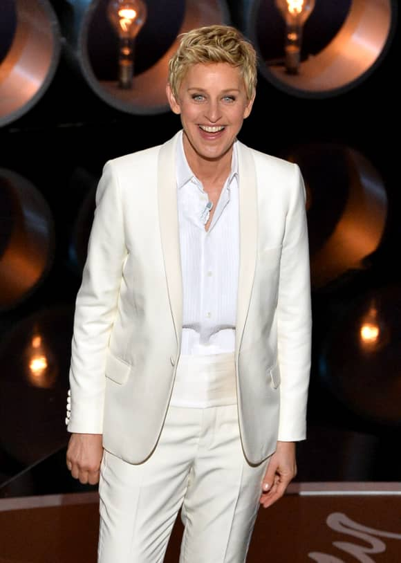 'The Ellen DeGeneres Show' Ellen DeGeneres at the 86th Annual Academy Awards
