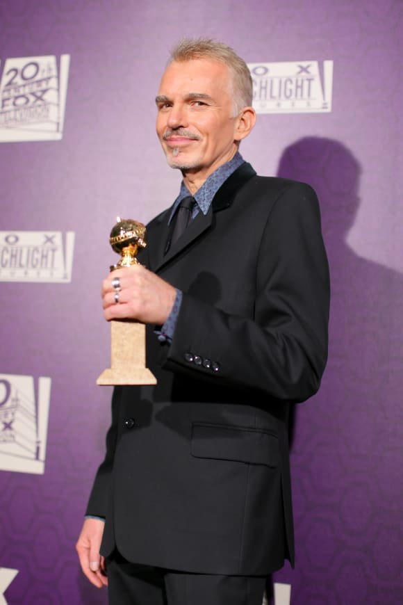 Billy Bob Thornton at The 72nd Annual Golden Globe Awards, 2015