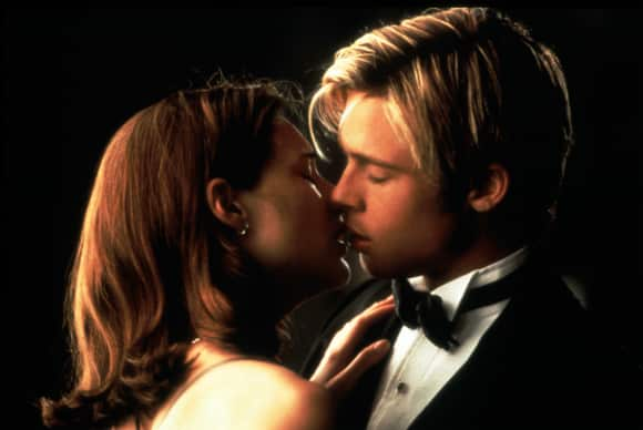 "Brad Pitt ad Claire Fontani in ""Meet Joe Black"""