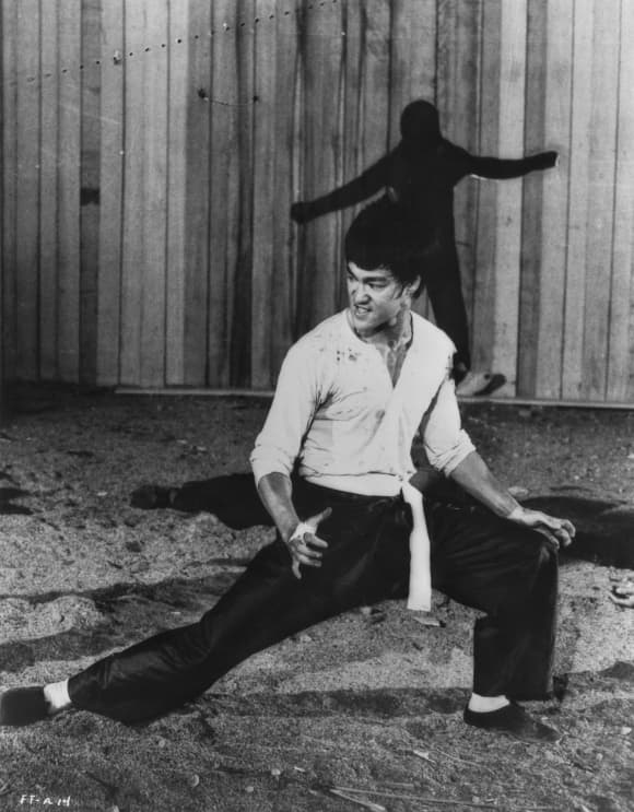 Bruce Lee in 'Fists of Fury'