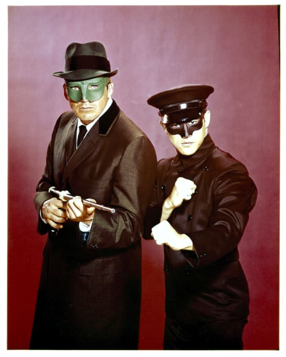 Bruce Lee and Van Williams in 'The Green Hornet'