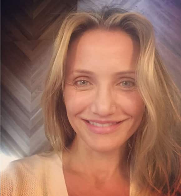 Cameron Diaz without make-up