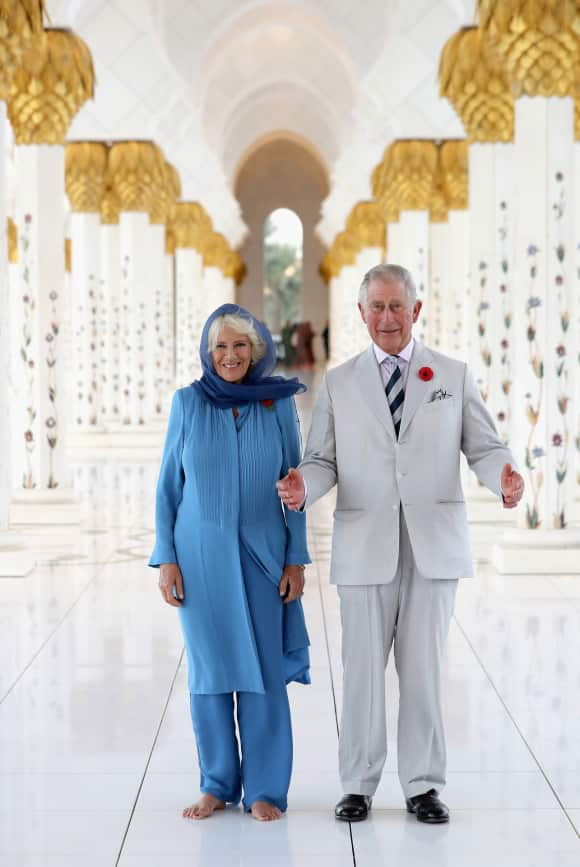 Duchess Camilla and Prince Charles in Abu Dhabi
