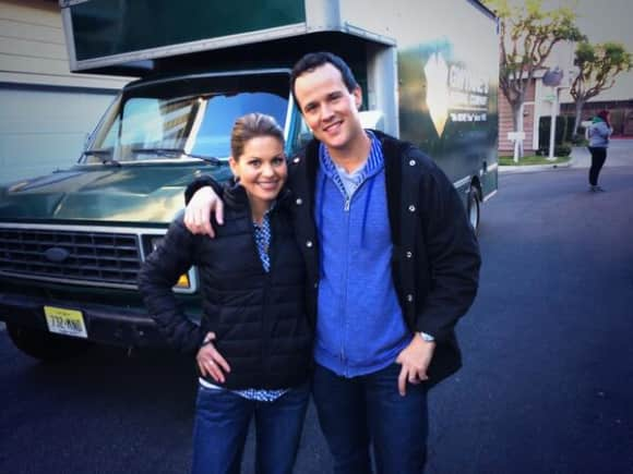 """Full House"" stars Scott Weinger and Candace Cameron Bure"