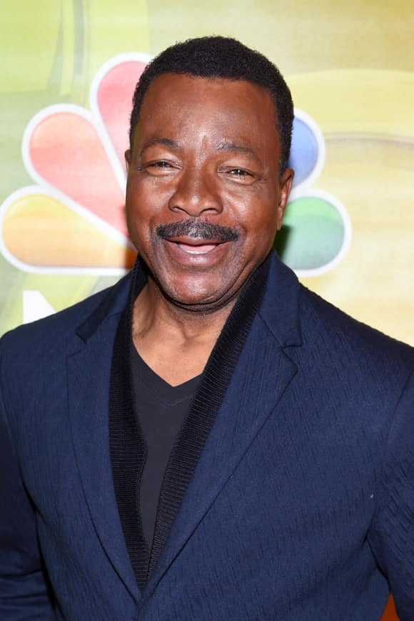"Carl Weathers alias ""Apollo Creed"" in ""Rocky"""